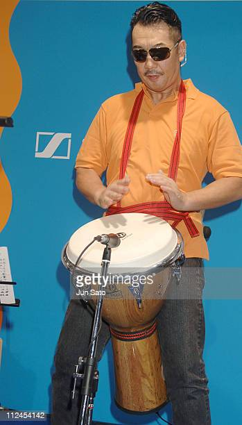 Nobu Saito during Musical Instruments Fair Japan 2005 Performers at Pacifico Yokohama in Yokohama Japan