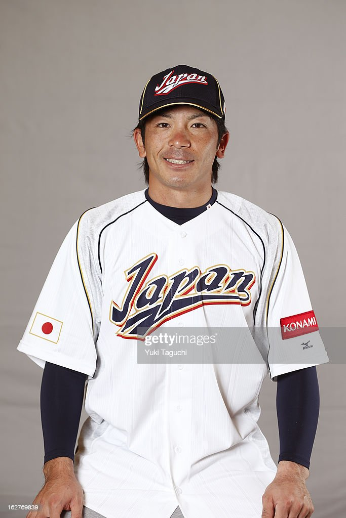 <a gi-track='captionPersonalityLinkClicked' href=/galleries/search?phrase=Nobuhiro+Matsuda&family=editorial&specificpeople=8673842 ng-click='$event.stopPropagation()'>Nobuhiro Matsuda</a> #5 of Team Japan poses for a headshot at the Rihga Royal Hotel on February 25, 2013 in Osaka, Japan.
