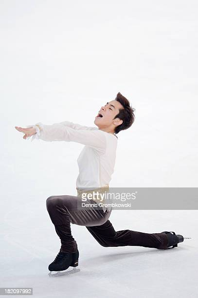 Nobunari Oda of Japan competes in the Men Free Skating competition during day three of the ISU Nebelhorn Trophy at Eissportzentrum Oberstdorf on...