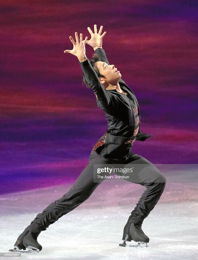 Nobunari Oda performs in the gala exhibition during day four of the 82nd All Japan Figure Skating Championships at Saitama Super Arena on December 24, 2013 in Saitama, Japan.