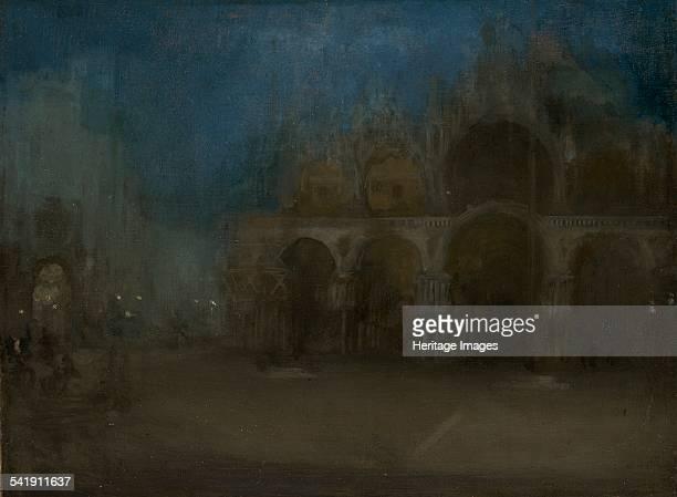 Nocturne blue and gold St Mark's Venice' 18791903 Artist James Abbott Mcneill Whistler