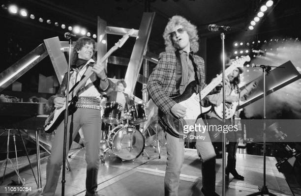 Noddy Holder and Dave Hill of Slade in concert 15th May 1984