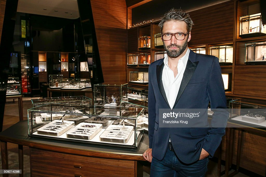 Noe Duchaufour-Lawrance attends the Montblanc House Opening on February 09, 2016 in Hamburg, Germany.