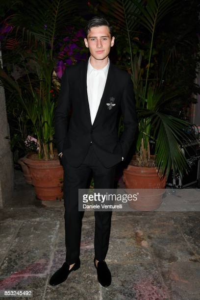Noe Elmaleh attends Dolce Gabbana Queen Of Hearts Party show during Milan Fashion Week Spring/Summer 2018 at on September 24 2017 in Milan Italy