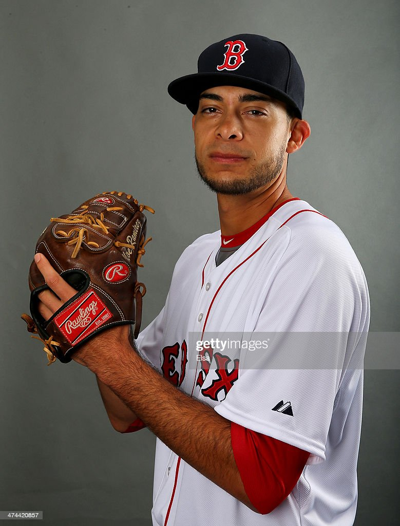 Noe Ramirez #78 of the Boston Red Sox poses for a portrait during Boston Red Sox Photo Day on February 23, 2014 at JetBlue Park in Fort Myers, Florida.