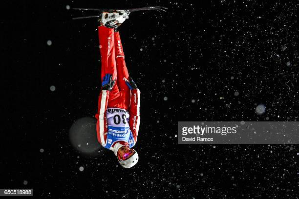 Noe Roth of Switzerland in action during Men's Aerials Training on day two of the FIS Freestyle Ski and Snowboard World Championships 2017 on March 9...