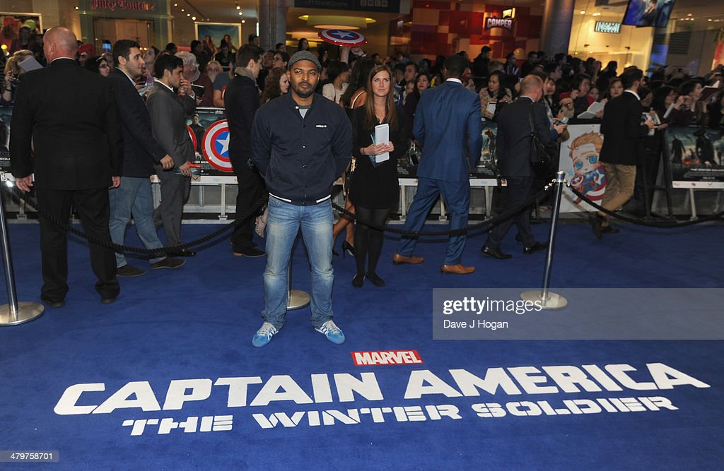 Noel Clarke attends the 'Captain America: The Winter Soldier' UK film premiere at Westfield on March 20, 2014 in London, England.