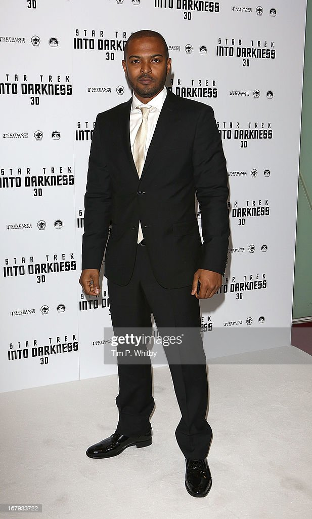 <a gi-track='captionPersonalityLinkClicked' href=/galleries/search?phrase=Noel+Clarke&family=editorial&specificpeople=834931 ng-click='$event.stopPropagation()'>Noel Clarke</a> attends the IMAX 3D Premiere of 'Star Trek Into Darkness' at BFI IMAX on May 2, 2013 in London, England.