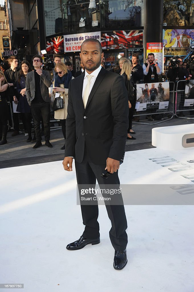 <a gi-track='captionPersonalityLinkClicked' href=/galleries/search?phrase=Noel+Clarke&family=editorial&specificpeople=834931 ng-click='$event.stopPropagation()'>Noel Clarke</a> attends the UK Premiere of 'Star Trek Into Darkness' at The Empire Cinema on May 2, 2013 in London, England.