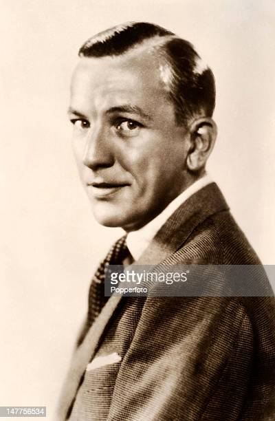 Noel Coward English actor playwright composer and director circa 1940