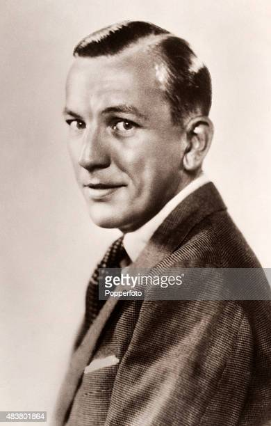 Noel Coward English playwright composer actor and singer circa 1933