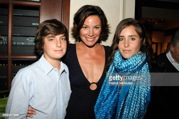 Noel de Lesseps Countess LuAnn de Lesseps and Victoria de Lesseps attend Special Preview Screening of 'A PASSION FOR GIVING' by ROBIN BAKER LEACOCK...
