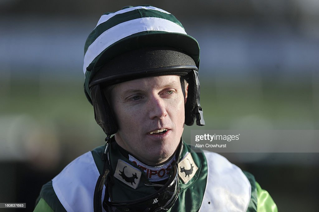 <a gi-track='captionPersonalityLinkClicked' href=/galleries/search?phrase=Noel+Fehily&family=editorial&specificpeople=241420 ng-click='$event.stopPropagation()'>Noel Fehily</a> poses at Doncaster racecourse on February 04, 2013 in Doncaster, England.