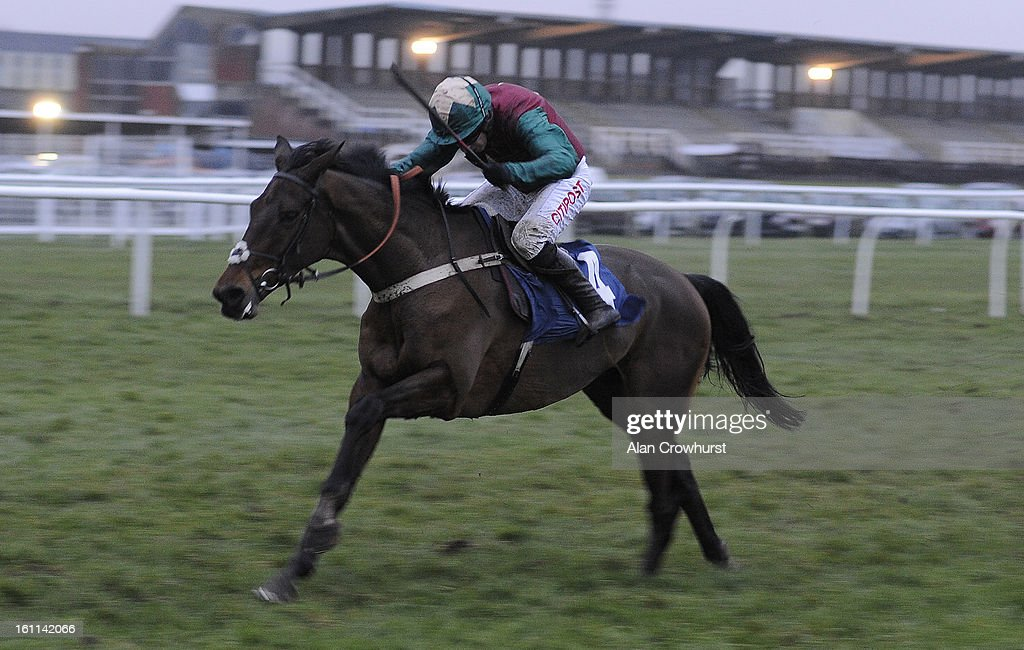 <a gi-track='captionPersonalityLinkClicked' href=/galleries/search?phrase=Noel+Fehily&family=editorial&specificpeople=241420 ng-click='$event.stopPropagation()'>Noel Fehily</a> riding Oscar Rock win The Betfair Commits £40 Million To British Racing Bumper at Newbury racecourse on February 09, 2013 in Newbury, England.