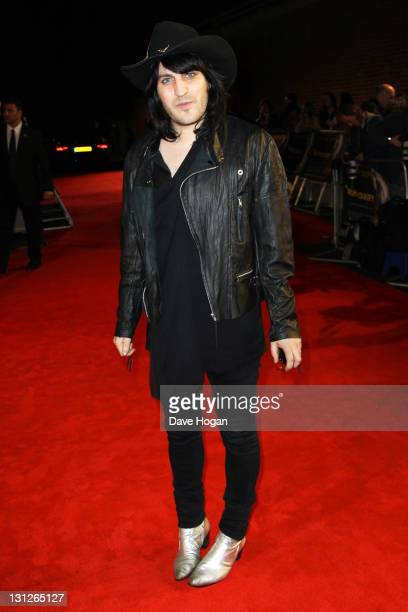 Noel Fielding attends the European premiere of 'The Rum Diary' at The Odeon Kensington on November 3 2011 in London England