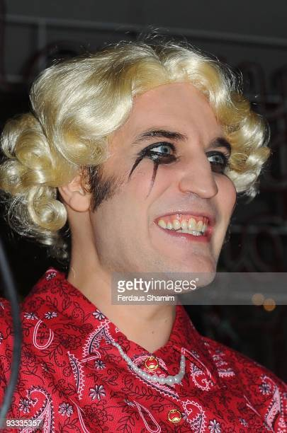 Noel Fielding attends the switch on ceremony for the Stella McCartney store christmas lights on November 23 2009 in London England