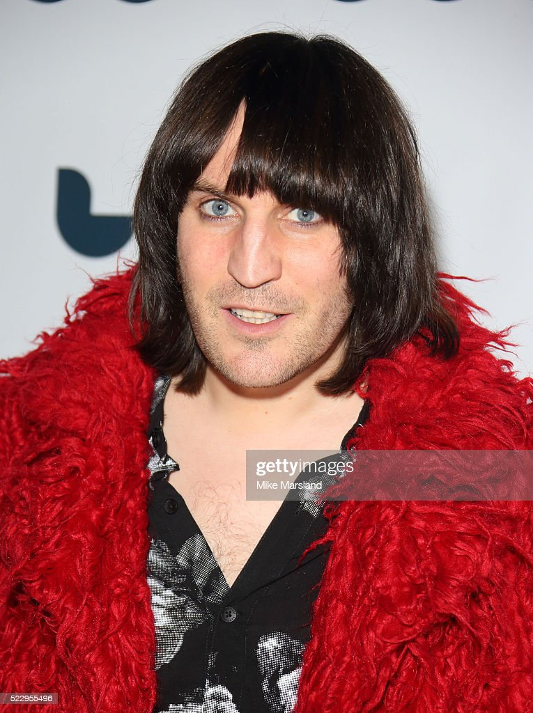 Noel Fielding attends the UK film premiere of 'Set The Thames On Fire' - on April 21, 2016 in London, United Kingdom.