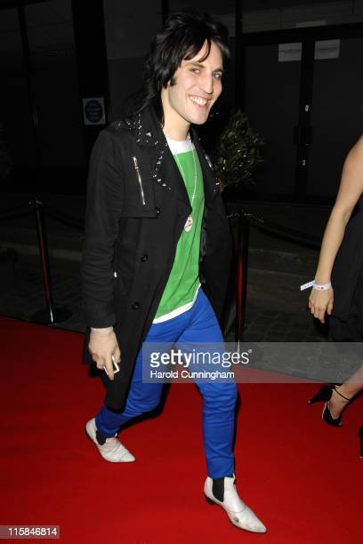 Noel Fielding during LG Party Outside Arrivals at The Old Truman Brewery in London United Kingdom