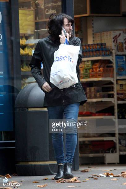 Noel Fielding seen shopping at his local Tesco store on September 10 2017 in London England