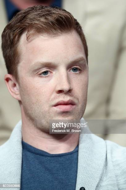 Noel Fisher of 'The Long Road Home' speaks onstage during the National Geographic Channels portion of the 2017 Summer Television Critics Association...