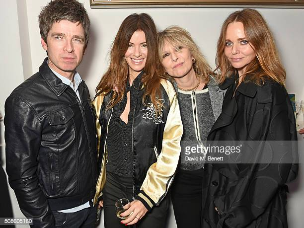 Noel Gallagehr Sara Macdonald Chrissie Hynde and Stella McCartney attend a cast and crew screening of 'This Beautiful Fantastic' at BAFTA on February...