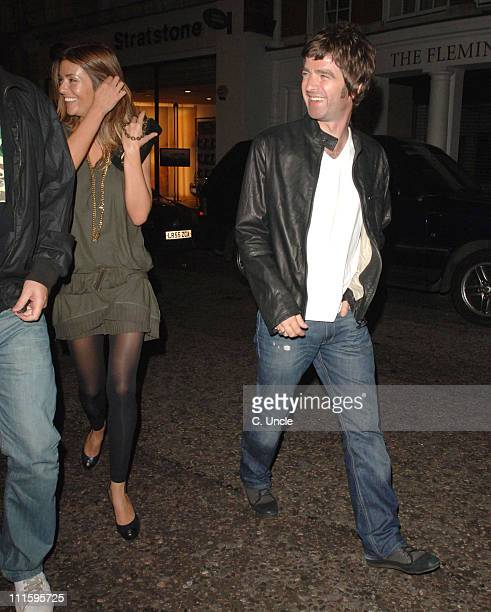 Noel Gallagher and Girlfriend during Noel Gallagher Sighting at Nobu in London September 12 2006 at Nobu in London Great Britain