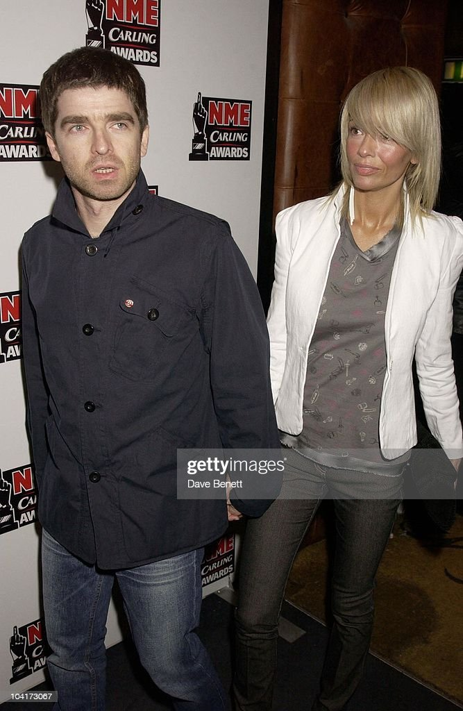 Noel Gallagher And Girlfriend Sarah, Nme Carling Awards 2003, At Po Na Na, Hammersmith, London