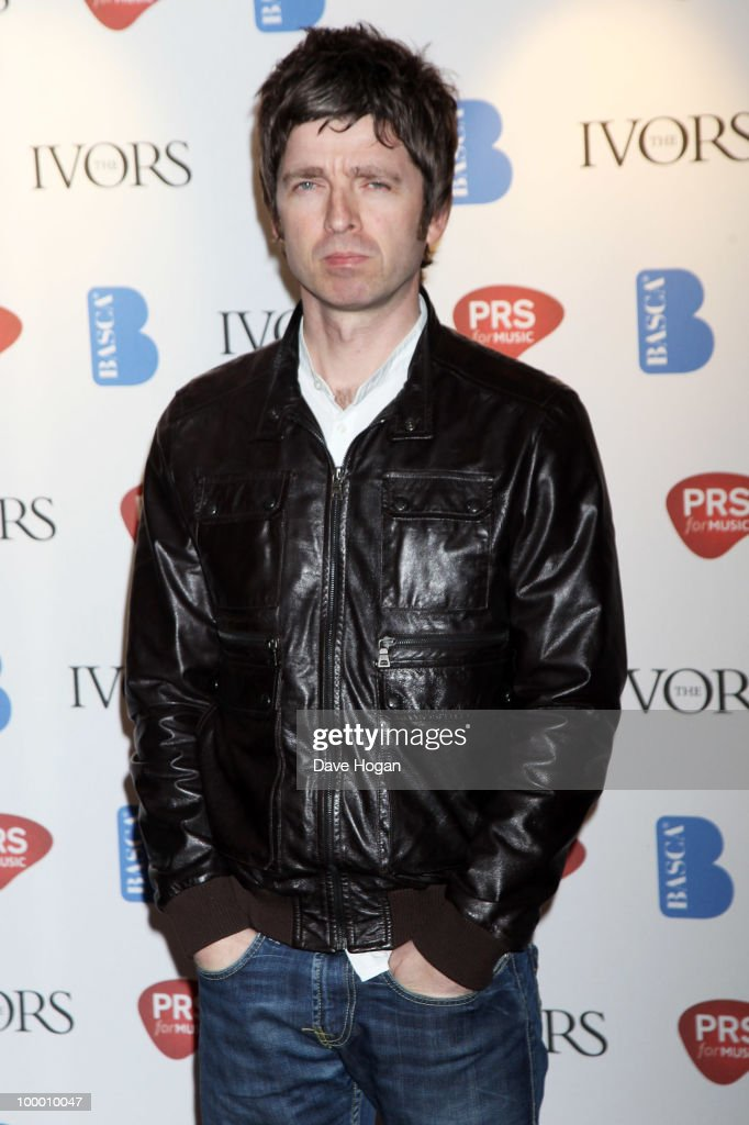 Noel Gallagher arrives at the 55th Ivor Novello Awards held at Grosvenor House Hotel on May 20, 2010 in London, England.