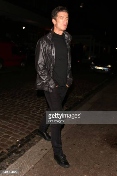 Noel Gallagher at The Chiltern Firehouse on September 7 2017 in London England