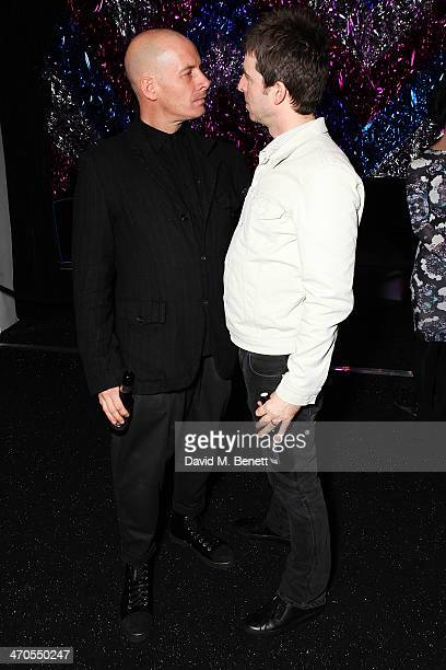 Noel Gallagher at Warner Belvedere Post BRIT Awards Party at The Savoy Hotel on February 19 2014 in London England