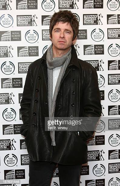 Noel Gallagher attends a press conference to announce the line up for Teenage Cancer Trust 2013 at Royal Albert Hall on December 5 2012 in London...