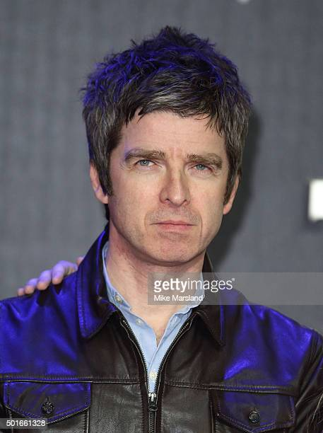 Noel Gallagher attends the European Premiere of 'Star Wars The Force Awakens' at Leicester Square on December 16 2015 in London England