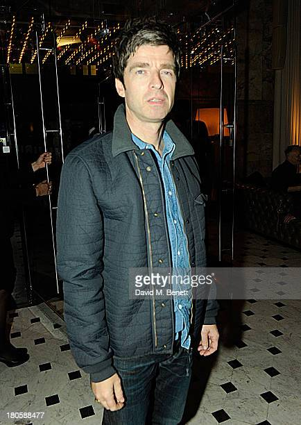 Noel Gallagher attends The London Edition opening celebrating the September issue of W Magazine at The London Edition Hotel on September 14 2013 in...