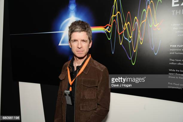 Noel Gallagher attends The Pink Floyd Exhibition 'Their Mortal Remains' private view at The VA on May 9 2017 in London United Kingdom