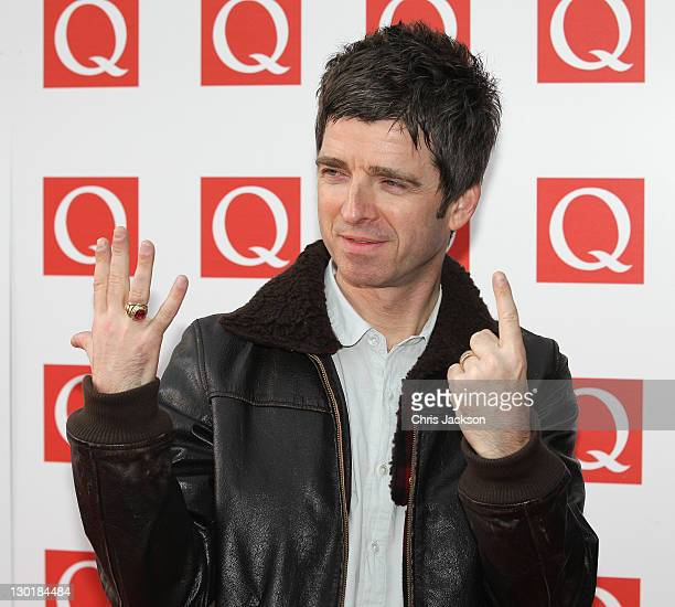 Noel Gallagher attends the Q awards at The Grosvenor House Hotel on October 24 2011 in London England