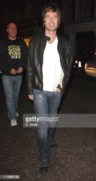 Noel Gallagher during Noel Gallagher Sighting at Nobu in London September 12 2006 at Nobu in London Great Britain