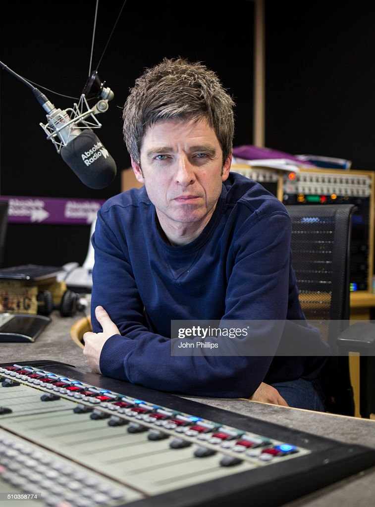 Noel Gallagher Visits Absolute Radio
