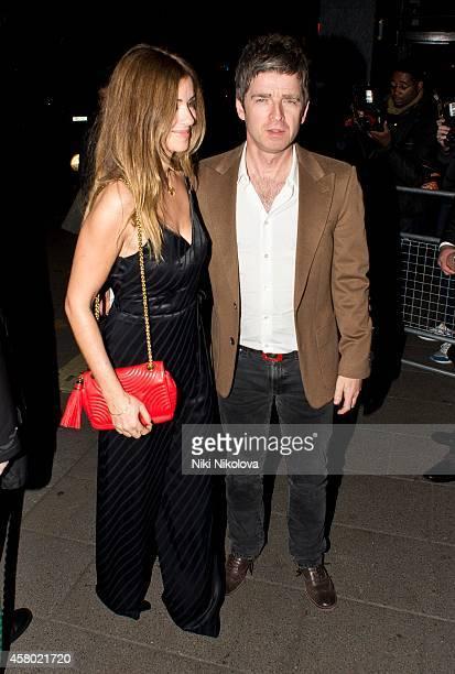 Noel Gallagher is seen leaving Annabel's club Mayfair on October 28 2014 in London England