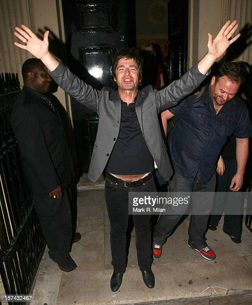 Noel Gallagher is seen on August 16 2009 in London England