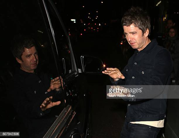 Noel Gallagher Marshall attends the launch of 100 Wardour St on January 28 2016 in London England