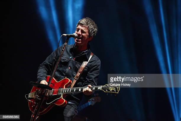 Noel Gallagher performs at Electric Picnic Festival at Stradbally Hall Estate on September 3 2016 in Laois Ireland