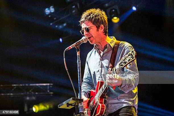 Noel Gallagher performs at Roskilde Festival on July 1 2015 in Roskilde Denmark