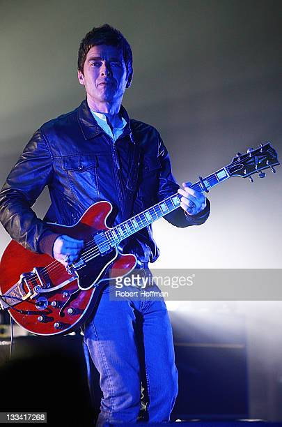 Noel Gallagher performs at Royce Hall UCLA on November 18 2011 in Westwood California