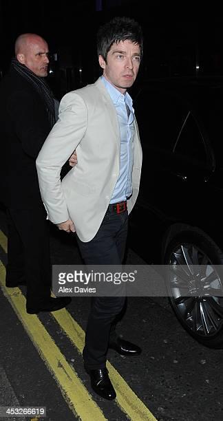 Noel Gallagher sighting on December 2 2013 in London England