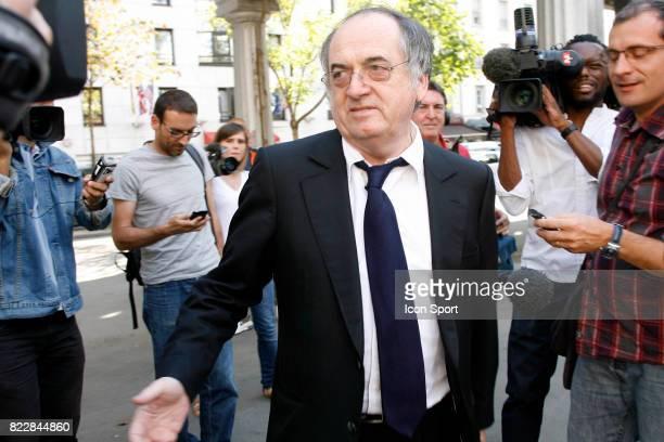 Noel LE GRAET Nomination du nouveau President par interim de la Federation Francaise de Football Reunion du conseil Federal Paris