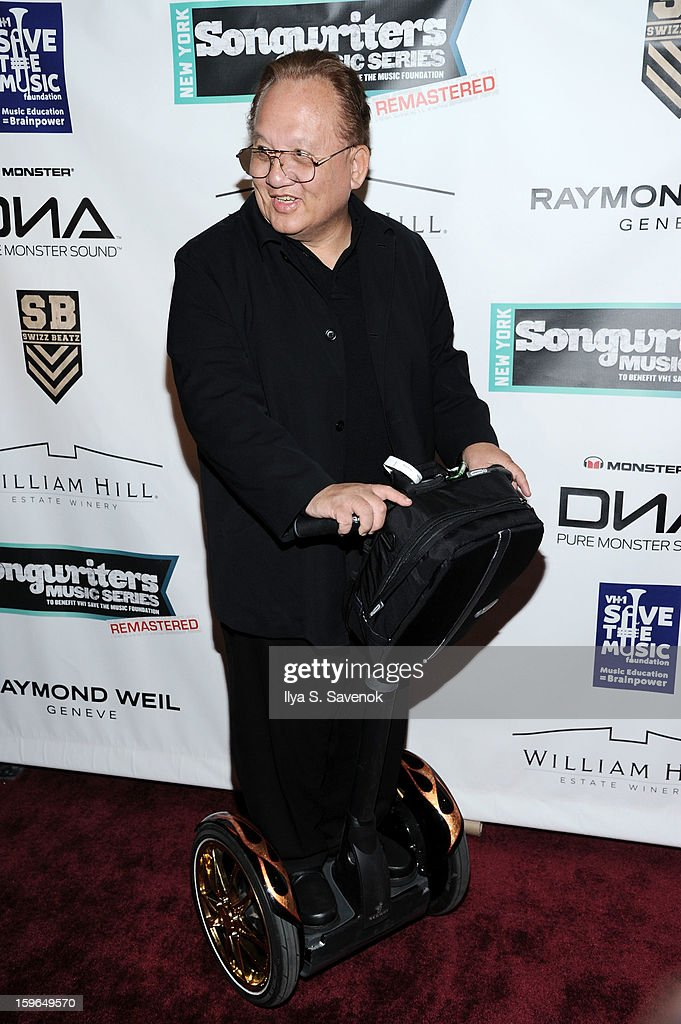 Noel Lee attends The VH1 Save The Music Foundation's 'Songwriter Music Series' With Swizz Beats at Hard Rock Cafe - Times Square on January 17, 2013 in New York City.