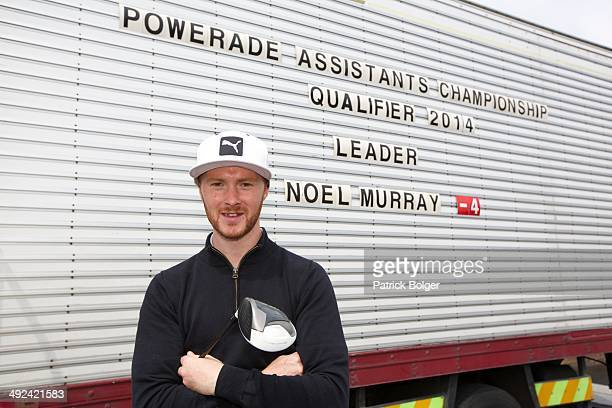 Noel Murray winner of the Powerade PGA Assistants Championship Irish Regional Qualifiers at County Meath on May 20 2014 in Trim Ireland