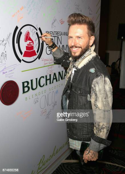 Noel Schajris attends the gift lounge during the 18th annual Latin Grammy Awards at MGM Grand Garden Arena on November 15 2017 in Las Vegas Nevada