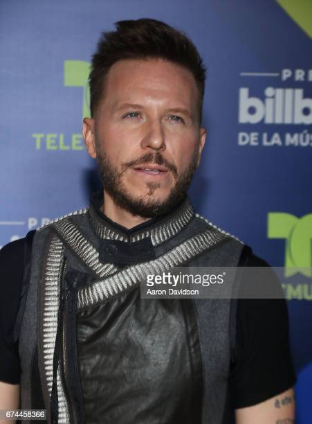 Noel Schajris poses backstage during the Billboard Latin Music Awards at Watsco Center on April 27 2017 in Coral Gables Florida
