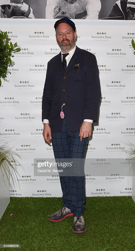 Noel Stewart attends the Sandown Park Racecourse Ladies' Day STYLE AWARD Hosted by Rosie Fortescue at Sandown Park on July 1, 2016 in Esher, England.